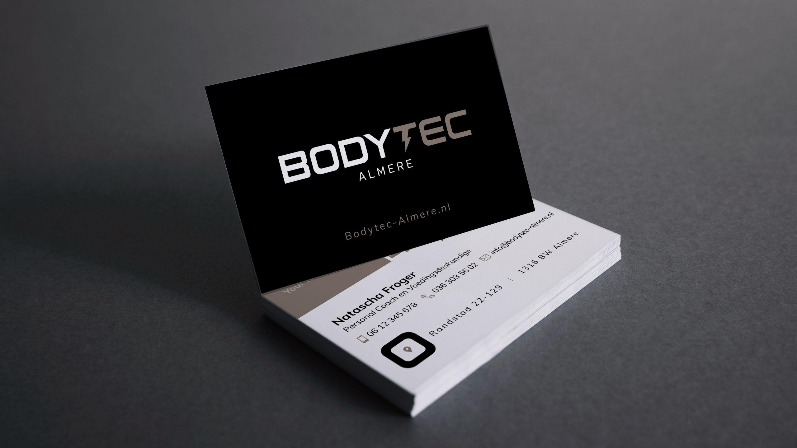 bodytec almere visitekaartje
