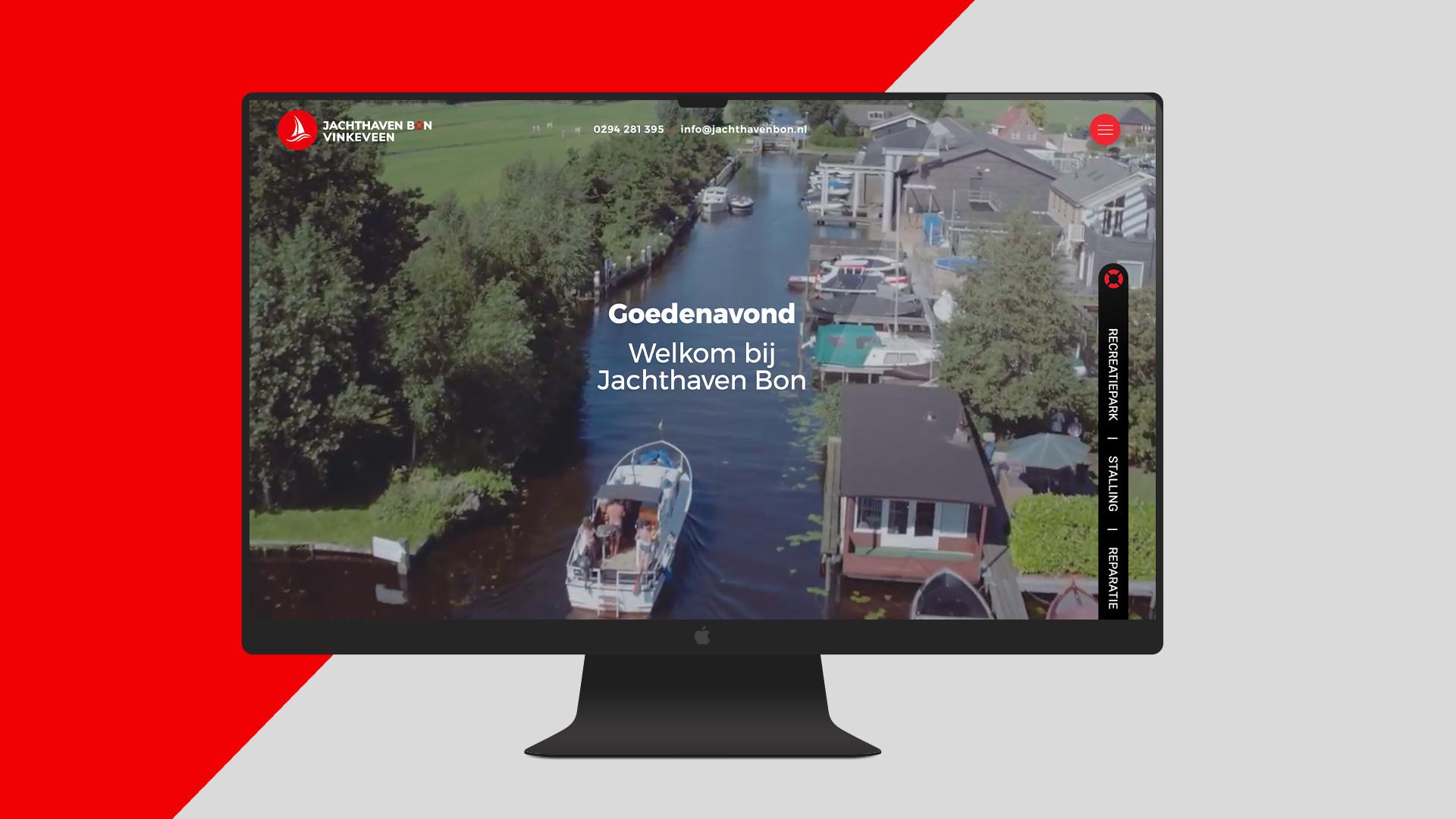 Jachthaven bon logo